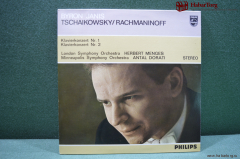 Винил LP 1 Tchaikovsky Rachmaninoff. Holland. Нидерланды.