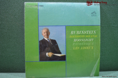 Винил LP 1 Artur Rubinstein. Beethoven. US. США. 1963.