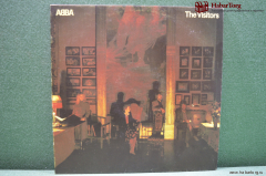 Винил 1 LP ABBA The visitors. Sweden. Швеция. 1981 год.