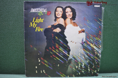 "Винил 1 LP Baccara ""Light my fire"". India. Индия."